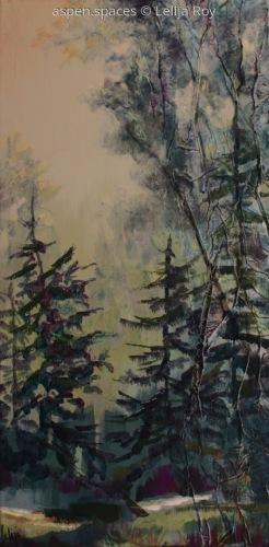 Serenity Mist 24x12 (c) Lelija Roy (large view)
