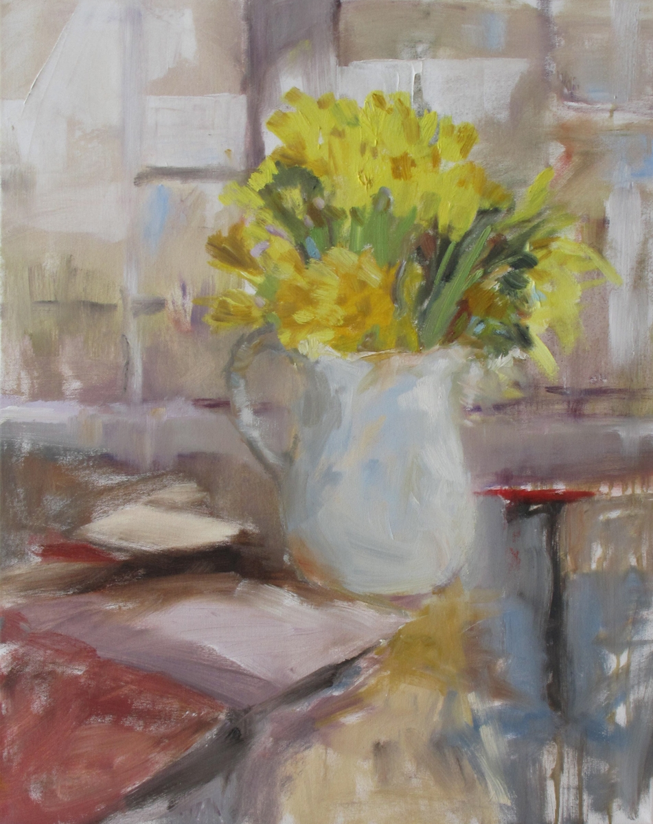 Daffodils at the Window (large view)