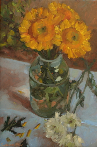 Sunflowers, 2009 (large view)