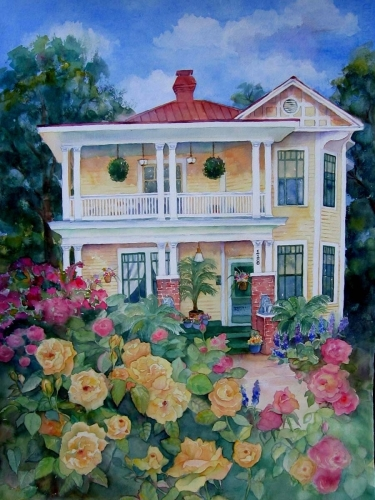 Monte Vista house by Lesta Frank
