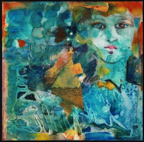 Blue Jewel by Lesta Frank
