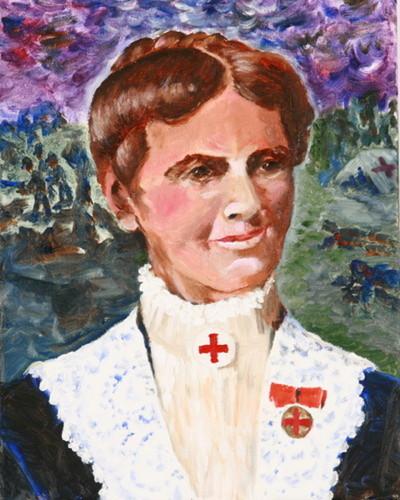 Clara Barton Portrait