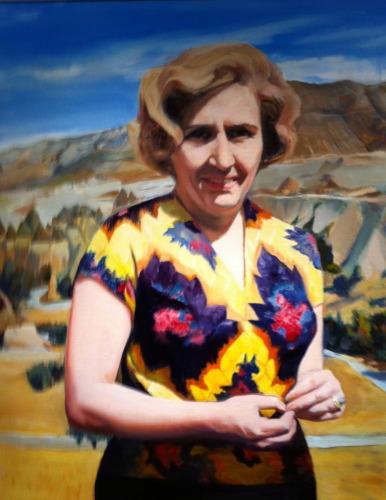 Mrs.S.Calika by Leyla Ecevit