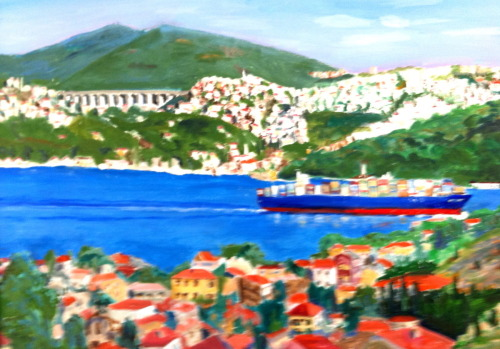 Painting-Oil-Bosphorus