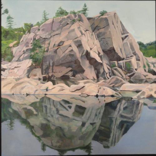 The Rock at Great Falls Park