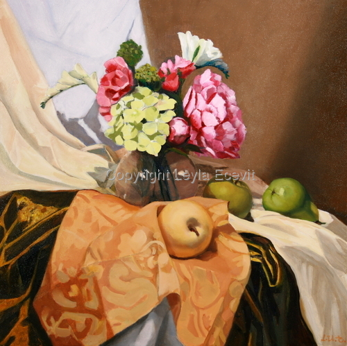 Flowers, Fruits and Fabrics