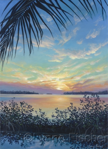 A Sunset in the Keys by Lynne Fischer Studios
