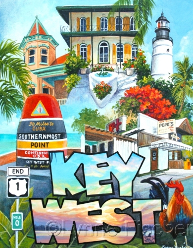 A Key West Collage