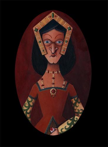 Queen Nina VanWeesal, 'Bloody Nose Nina' (large view)