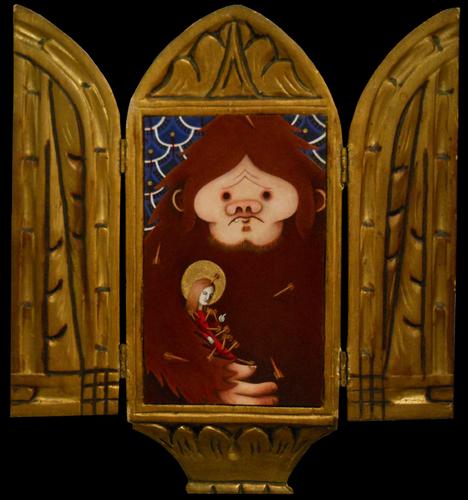 St. Agatha: Patron Saint of Bigfoot (large view)