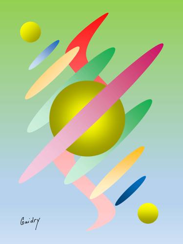 Digital Cosmic Image 3