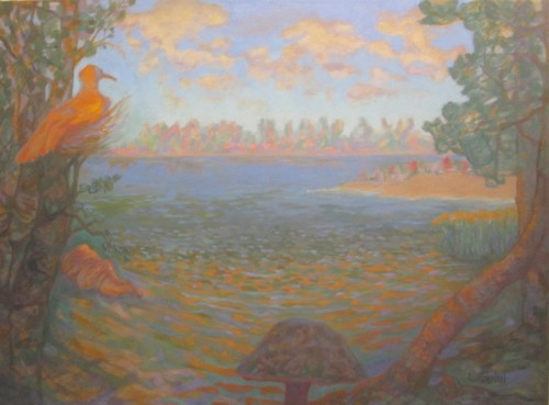Pidgeon Island by Larry Gulmi Art, LLC