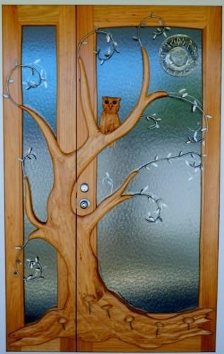 Carved Entranve Door