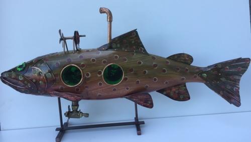 Steampunk trout