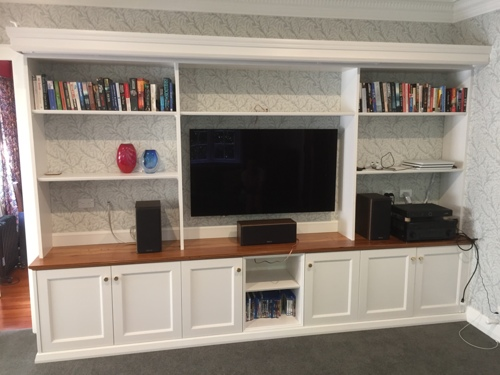 Buillt-In Entertainment Center