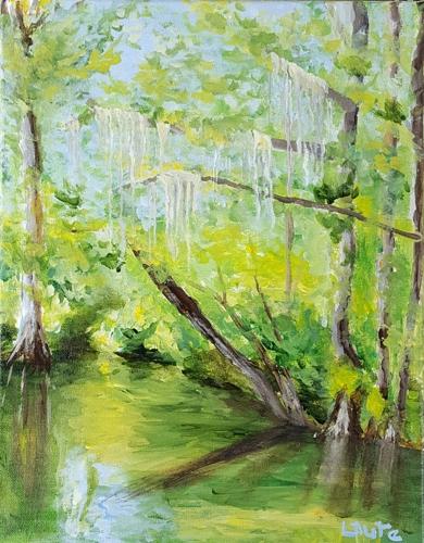 Louisiana Swamp $125.00