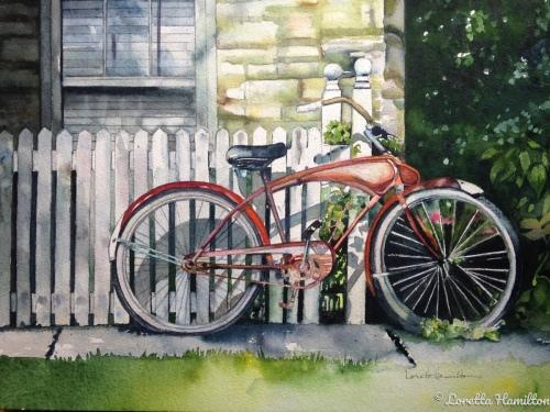 Lazy Summer Days by Loretta Hamilton