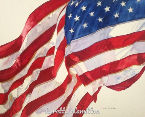 ...with Liberty and Justice for All by Loretta Hamilton