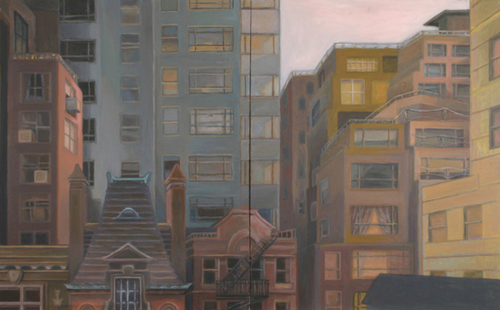 Cityscape, Midtown by Libby Braden