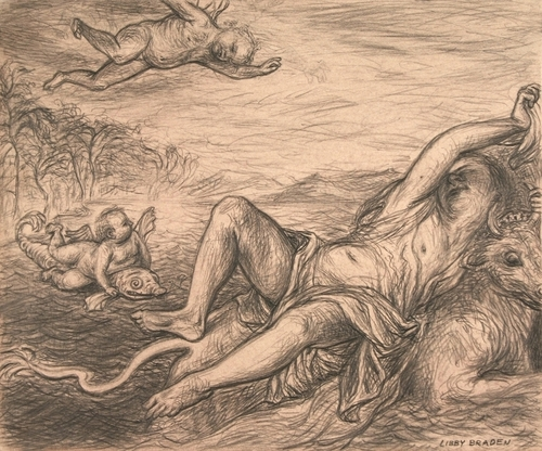 Drawing from Titian