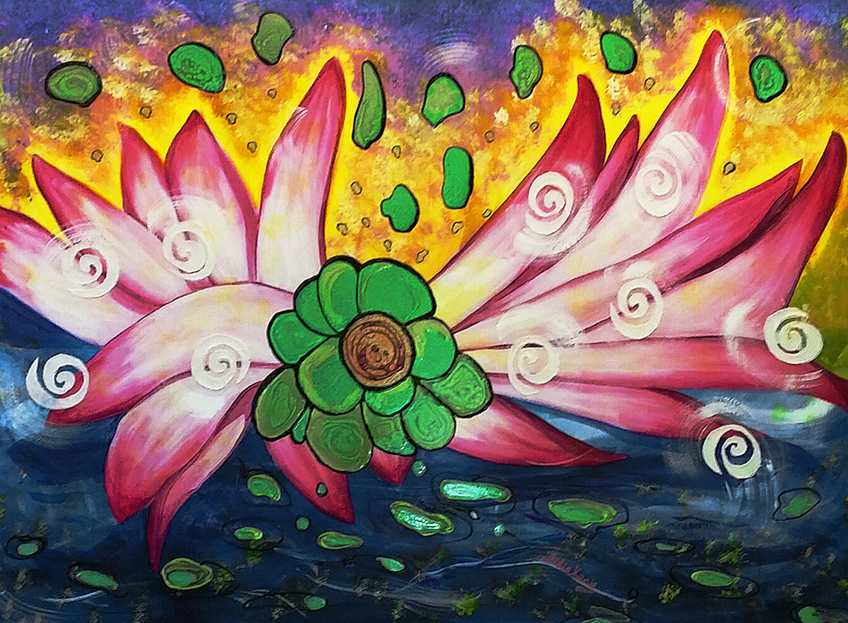 The Jewels in the Lotus (large view)