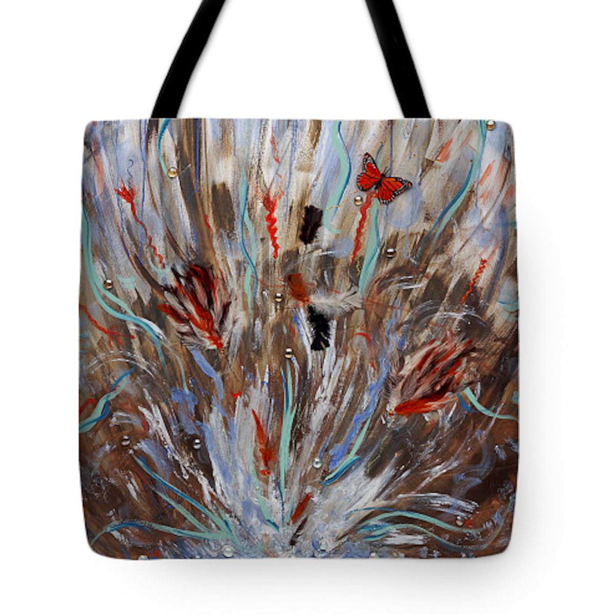 Playing with Fear Tote Bag (large view)