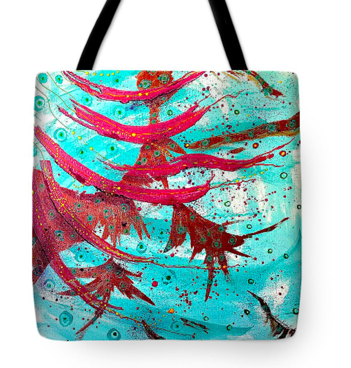 Flowing Tote Bag (large view)