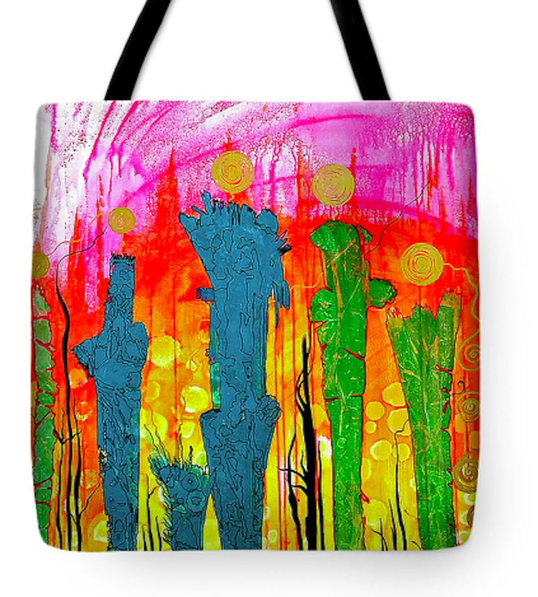 The Source Tote Bag (large view)