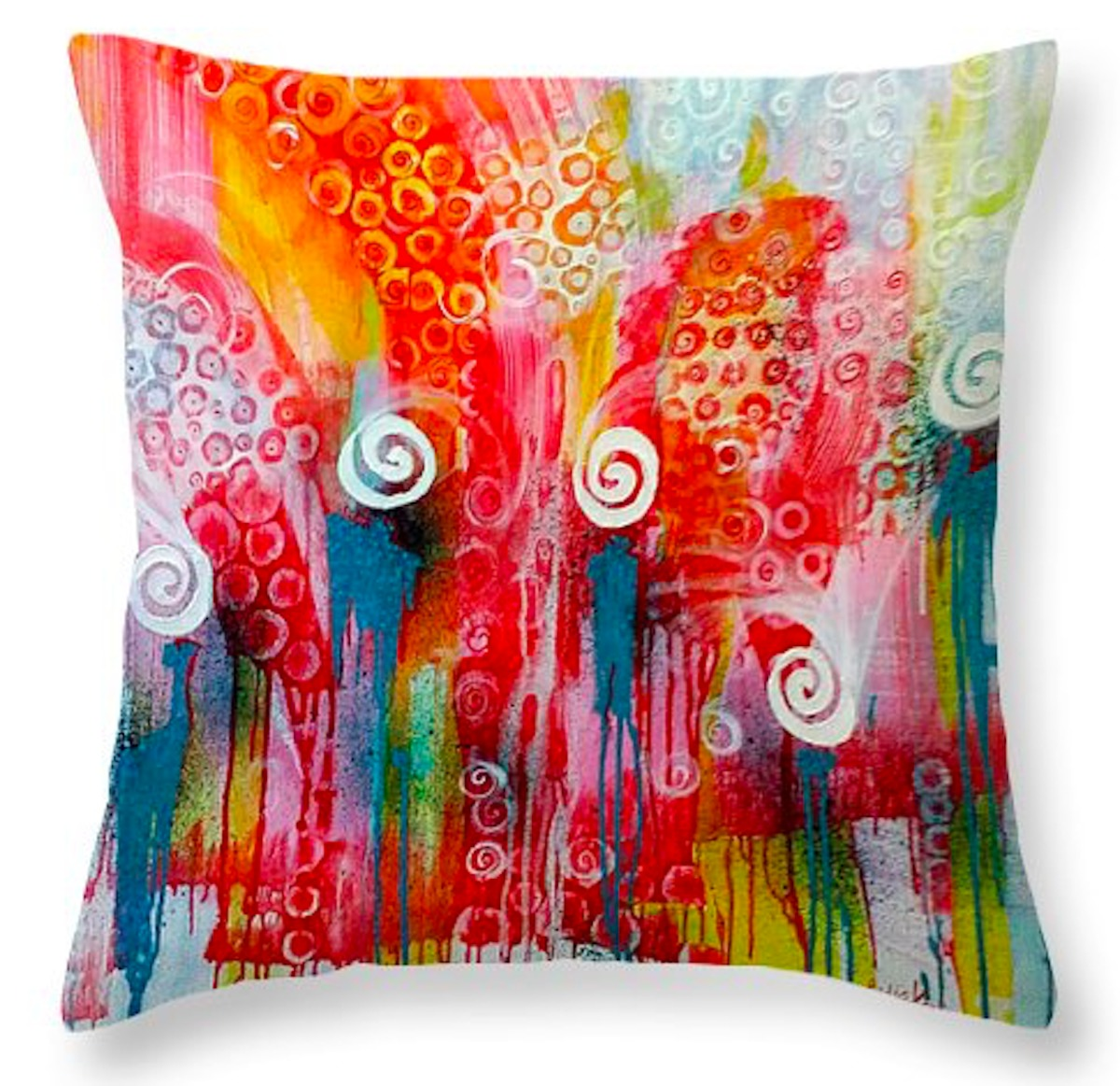 Embracing Grace - Throw Pillow (26x26) (large view)