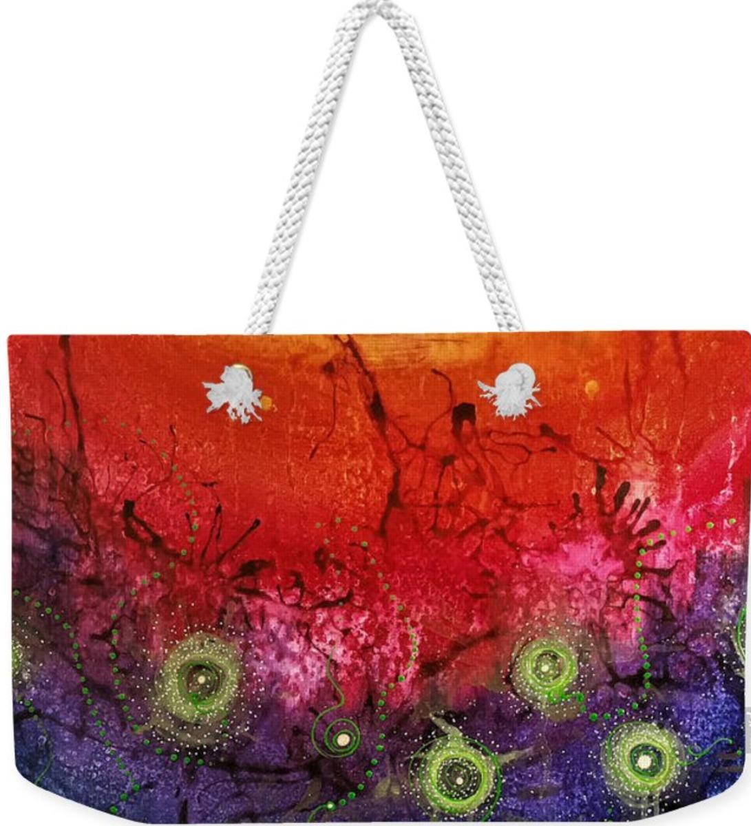 Light of Awareness Tote Bag (large view)