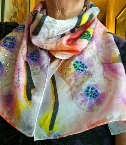 Energy One Silk Scarf (large view)