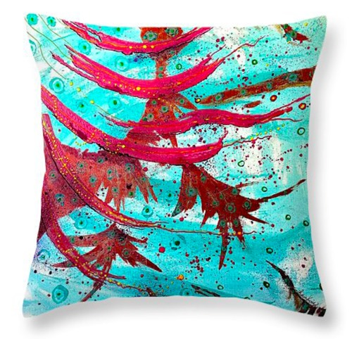 Flowing - Throw Pillow (20x20) (large view)