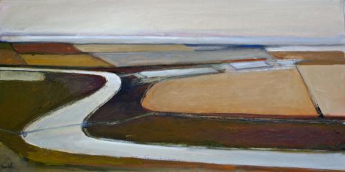 Salt Ponds III by Hawk Oak Studios