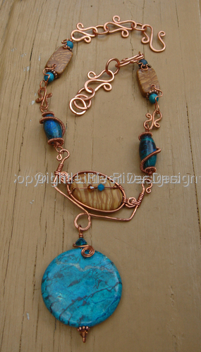 Desert Sun Necklace