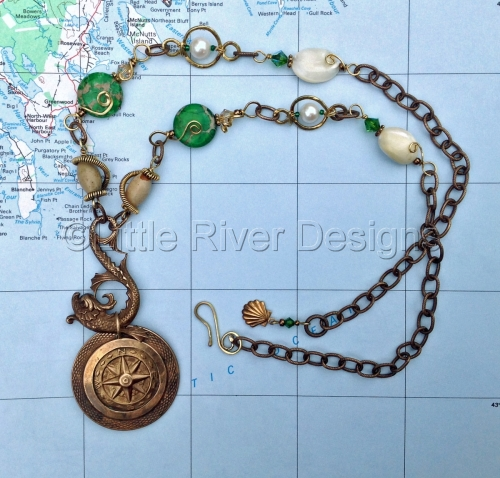 Casco Bay Necklace and Earring Set