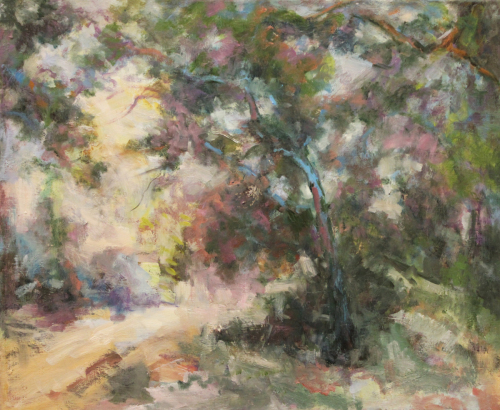 Santiago canyon spring by Lillian Winkler