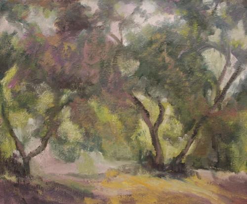 Afternoon oaks