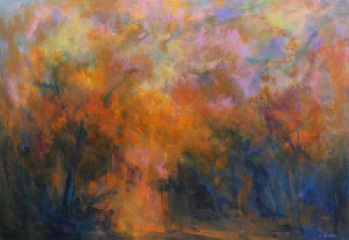 Forest reverie by Lillian Winkler