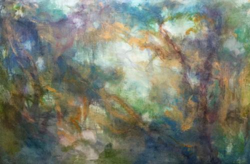 Primordial forest by Lillian Winkler