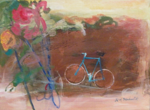Roses and Bicycle II