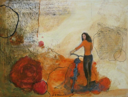 Roses and Bicycle v - Hello