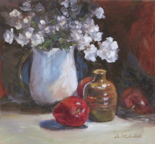 Plum Blossoms in Vase