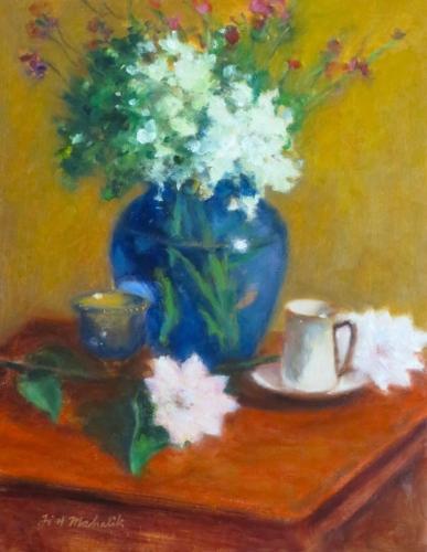 Hydrangea in a Vase