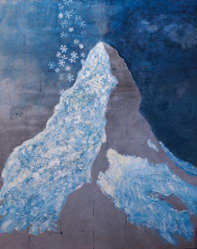 Snowflakes on Matterhorn 1