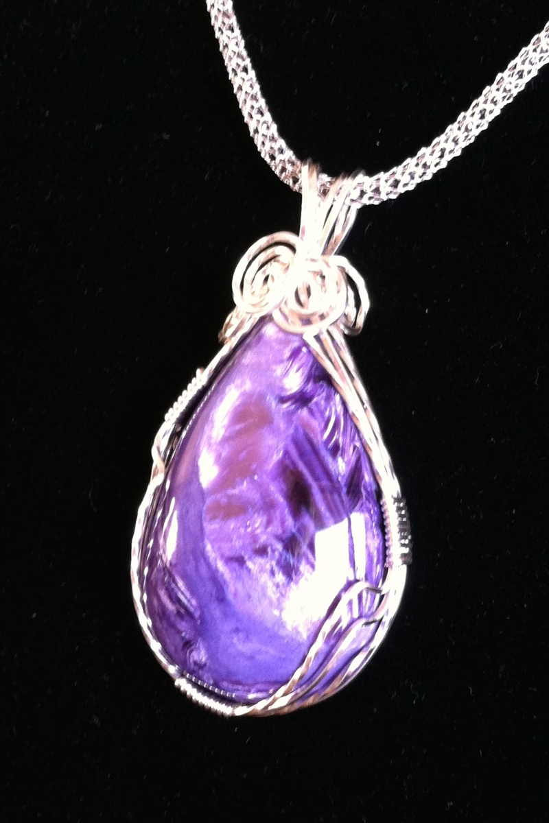 RUSSIAN CHAROITE (large view)