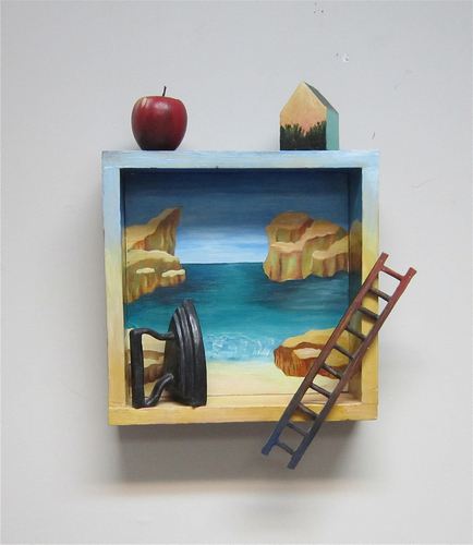 Santa Cruz by Linda Atkinson Art