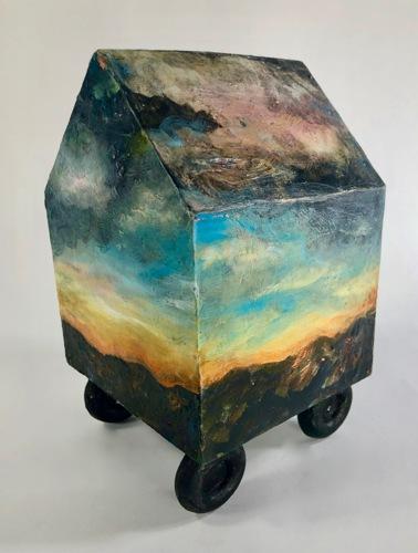 Incoming Storm by Linda Atkinson Art