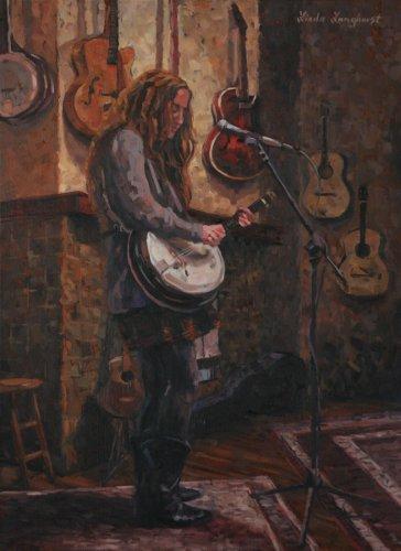 Alexa On The Rug by Linda Langhorst