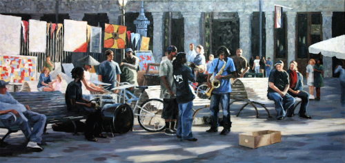 Blues On Jackson Square