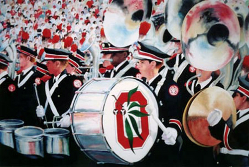 Buckeye Drum — Print